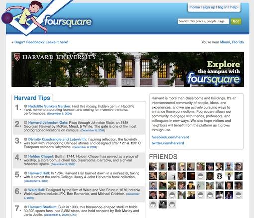 foursquare-Harvard